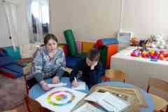 Индивидуальное занятие с социальным педагогом